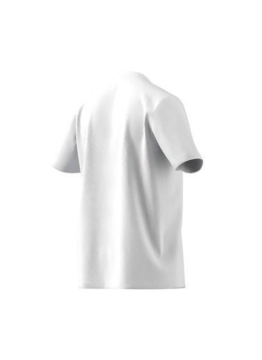 adidas M Bl Sj T Erkek Kısa Kol T-Shirt Beyaz